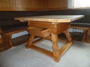 Jogltisch 4 Stühle