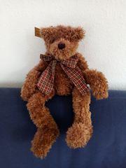 Brauner Teddy mit kuschelweichem Plüsch