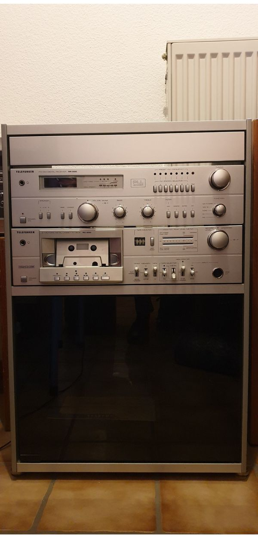 Telefunken Stereo-Anlage mit Rack und
