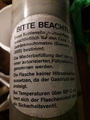 CO2 Flasche Zylinder Kohlensäure Minipom