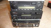 Autoradio CD Cassette 3 stück