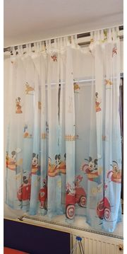 Kinderzimmer Gardienen Mickey Maus