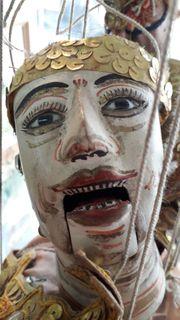 Marionette aus Burma ca 100
