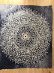 Indisches Mandala Wandtuch 203 x