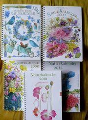 5 Naturkalender wunderschön gestaltet von