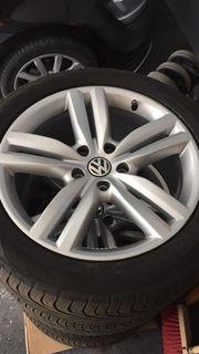 VW Touareg Felgen mit Reifen