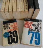 Fischer Weltalmanach 1969 - 1979 Jahreschronik