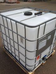 1000L IBC Container als Regenwassertank