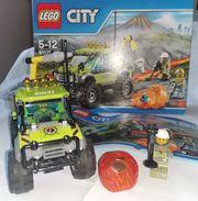 Lego Vulkan Forschungstruck 60121