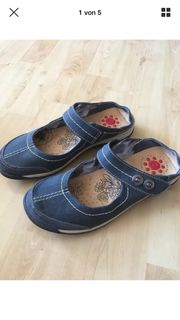 Relife Sandaletten Sabots blau Gr