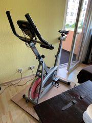 Heimtrainer Rad Spin Race Pro