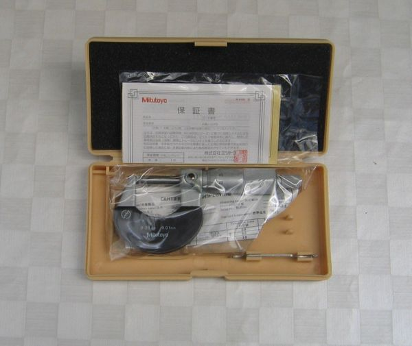 1 ea Bügelmessschraube 0-25 mm
