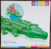 XXL aufblasbares Krokodil mit 4