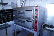Pizzaofen SGS Doppelkammer Schamottstein für