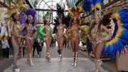 Sambashow Brasilianische Sambatänzerinnen für Ihre