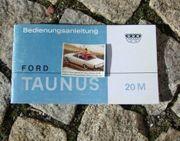 Betriebsanleitung Ford Taunus P5 20M