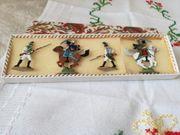 Kleine Sammlung Verschiedene Ritterfiguren aus