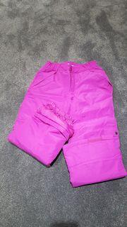 NEUE Mädchen-Schnee- und Skihose knall-pink