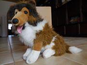 Collie Hund Plüschtier