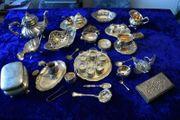Silber Silberschatz Dachbodenfund England Russland