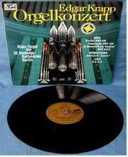 LP Vinyl Edgar Krapp - Orgelkonzert