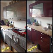 Küchen folieren Möbel Folieren Schränke