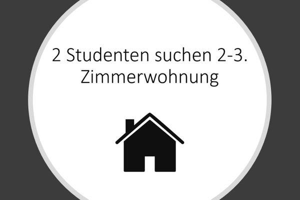 2 arbeitende Studenten suchen 2-3
