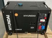 Hyundai HDG12 Notstromaggregat
