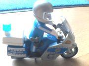 Playmobil 4261 - Motorradstreife - Polizei - blau -