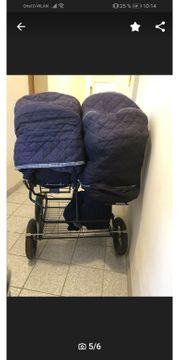 Geschwister Kinderwagen Teutonia