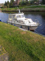Kajütboot Dünholm GFK 50 ps