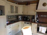 Landhausstil Küche Weiß Creme