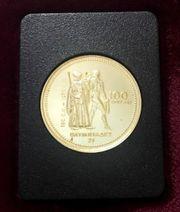 Goldmünze 100 Dollars Canada olympische