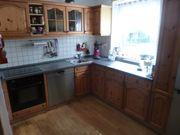 Einbau- Winkelküche - L-Form Landhausstil