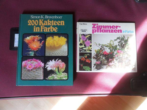 2 Pflanzenbücher Zimmerpflanzen