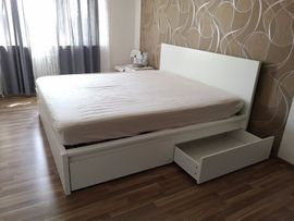 Betten - Ikea Doppelbett Komplettset mit Matratze