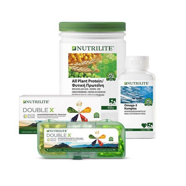 Nahrungsergenzungsmittel Grundlagen Trio mit NUTRILITE
