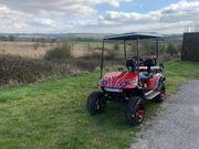 Golf Buggy EZGO Angepasst