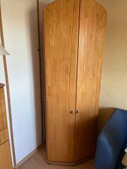 Schrank Wohn- Schlafzimmer aus ECHTHOLZ