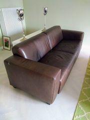 Leder Designer Sofa von Koinor