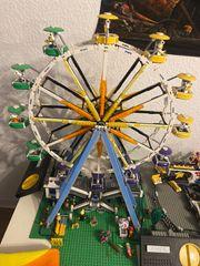 Lego Fahrgeschäfte Riesenrad und Mixer