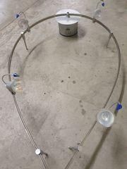 Vierflammige -Deckenlampe