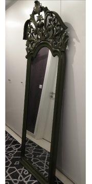 Barock Jugendstil Mahagoni Spiegel