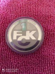 1 FCK Münze
