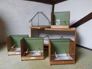 Vogelkäfige Nistkästen Transportboxen Vogelzeitschriften