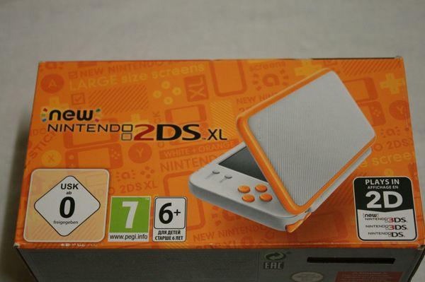 Nintendo NEW 2DS XL white