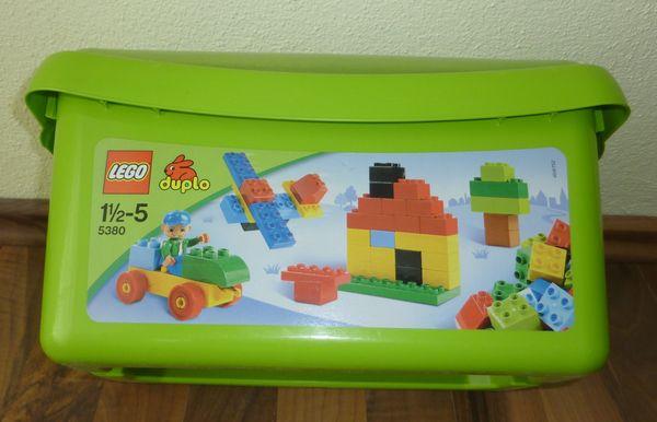 Lego Duplo 5380 Große Steinebox