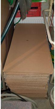 80 Stück Einlegeböden für Schwerlastregal