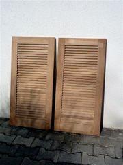 Fensterläden Holz neu