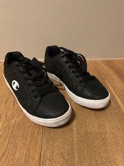 cooler CHAMPION Damen Teenie-Sneaker schwarz